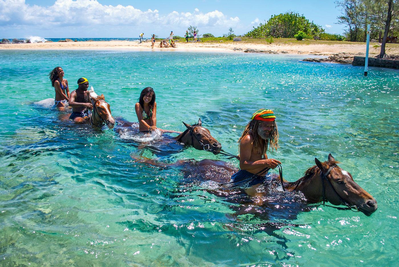 Jamaika_HORSE-SWIM