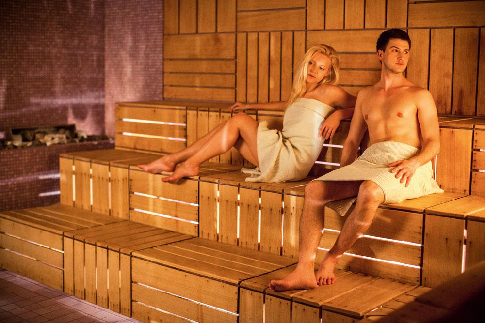 Saunagang im Hotel Breza, Slowenien