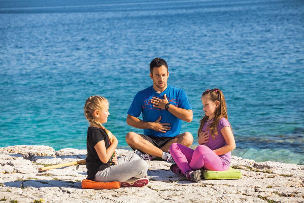 Kinder-Wellness auf der Kvarner-Insel Losinj