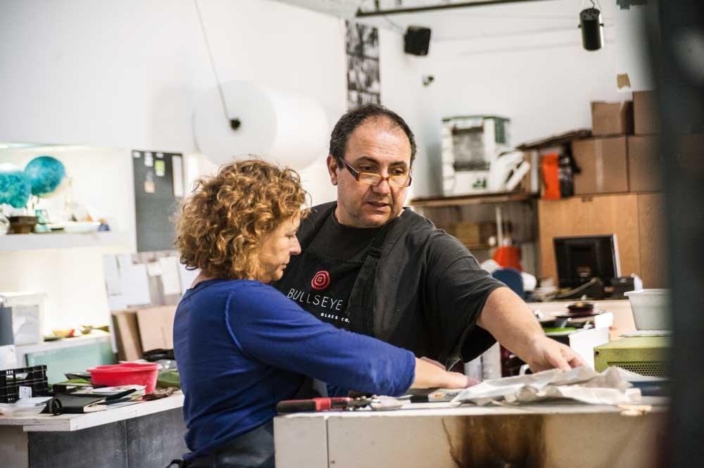 Esther Luesma und Xavier Vega