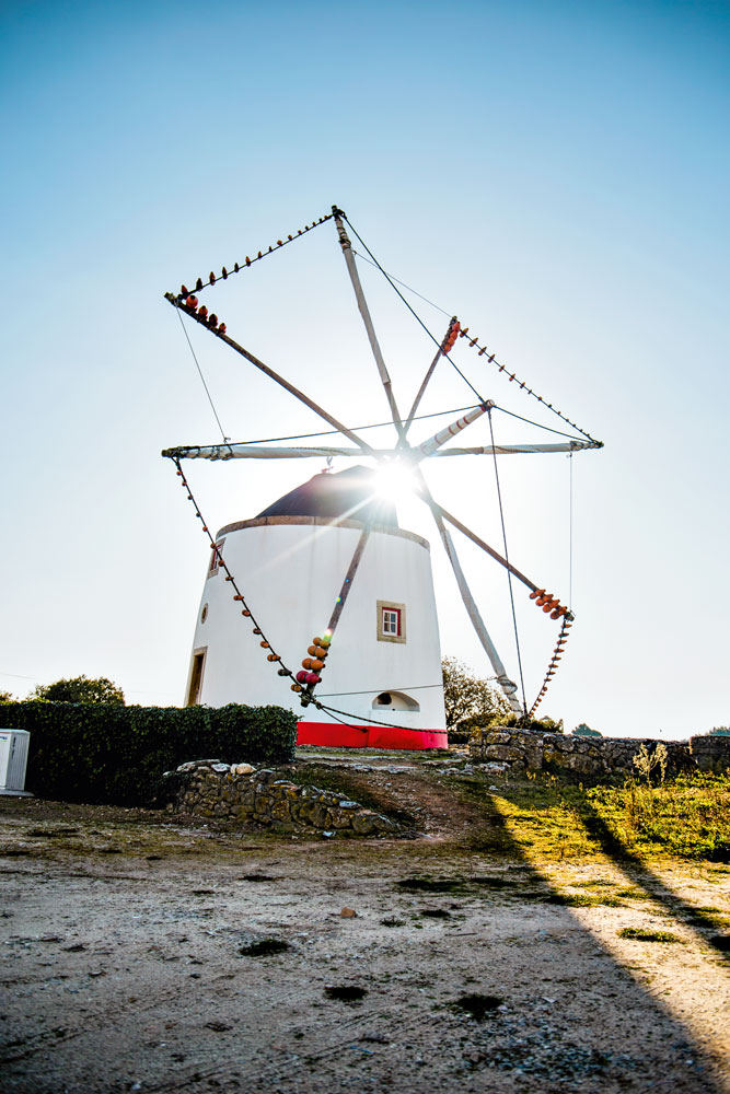 Windmühle in Lourinhã – Portugal