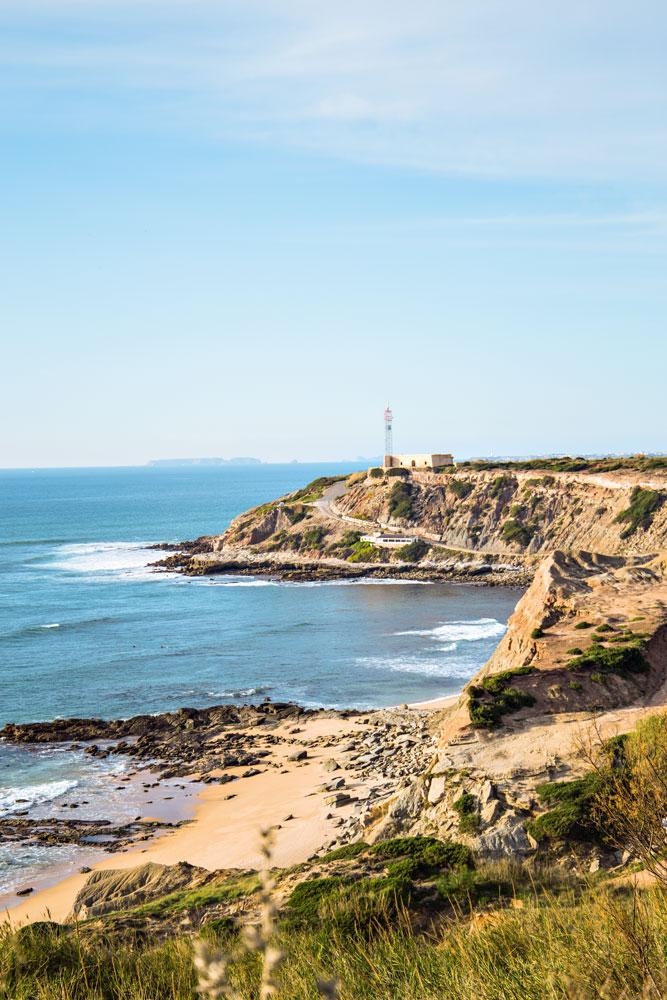 Die Bucht von Lourinhã – Portugal