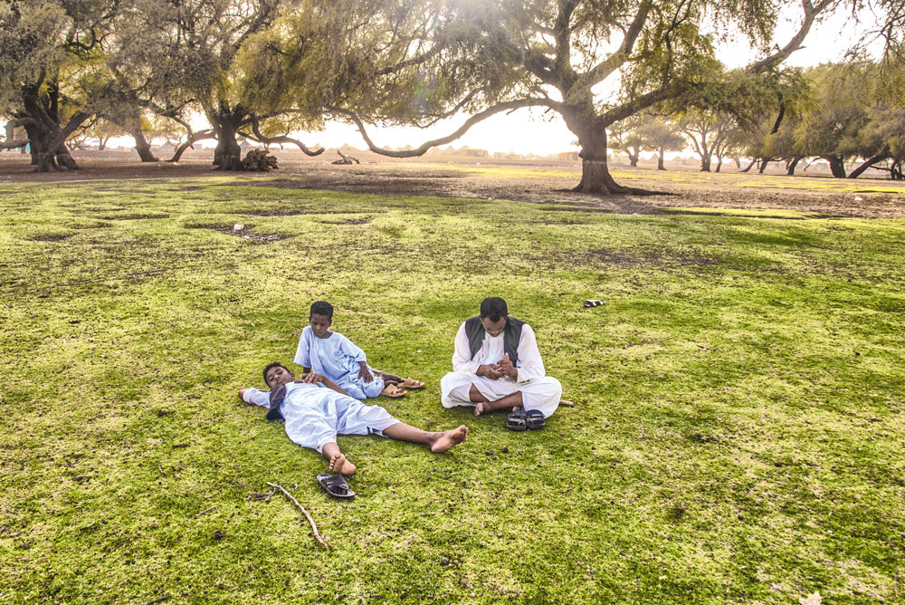 Mittagsruhe im Sudan
