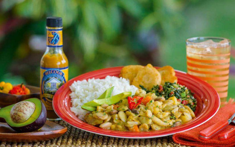 stew peas rundown, Jamaika