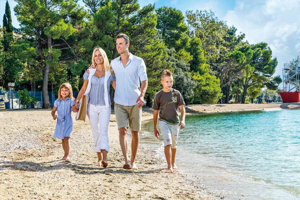 Familienurlaub im Kvarner
